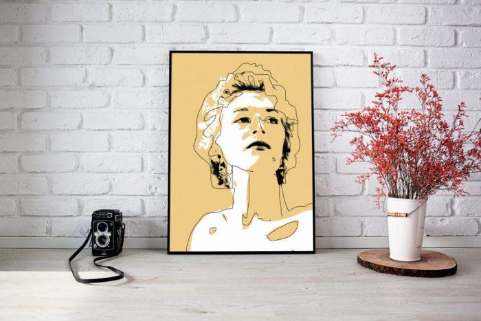 ilustracion estampada en textil - matsu studio