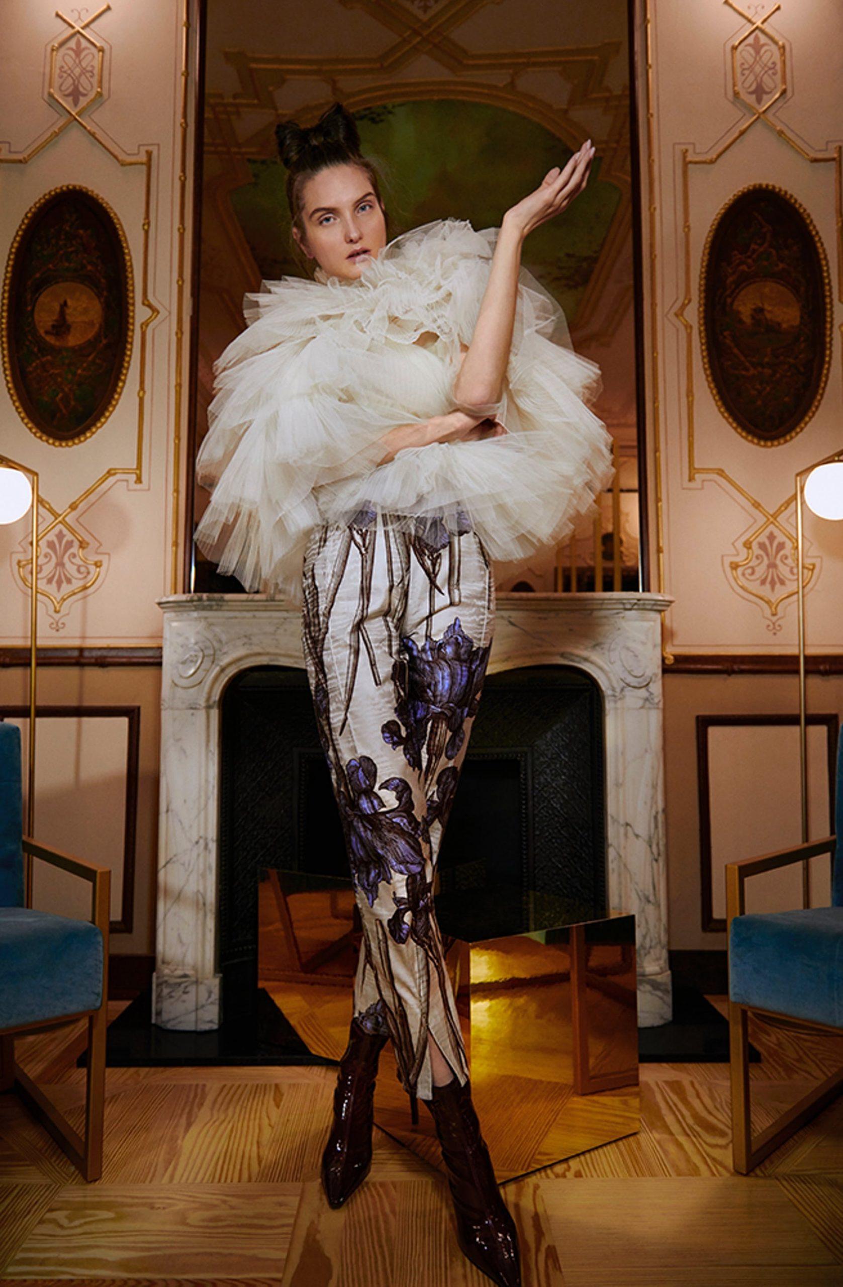 pantalon fiesta flores lofficiel_matsustudio