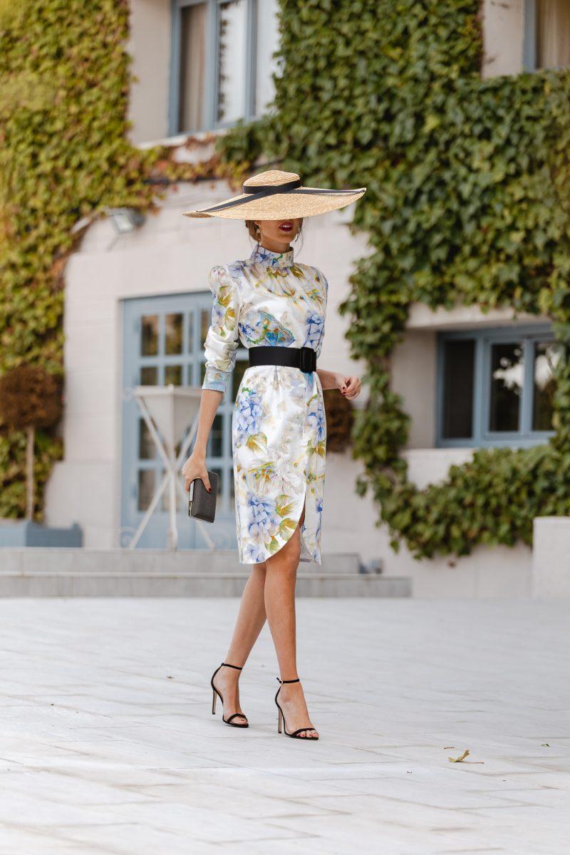 invitada perfecta - vestido flores - MATSU